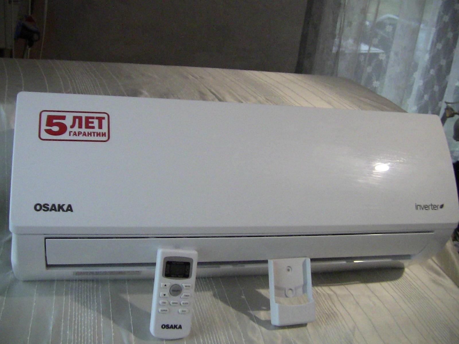 Зображення кондиціонера OSAKA для спальної кімнати