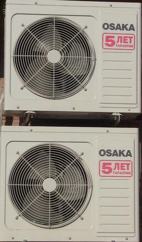 Зображення кондиціонерів OSAKA, гарантія 5 років зовнішні блоки