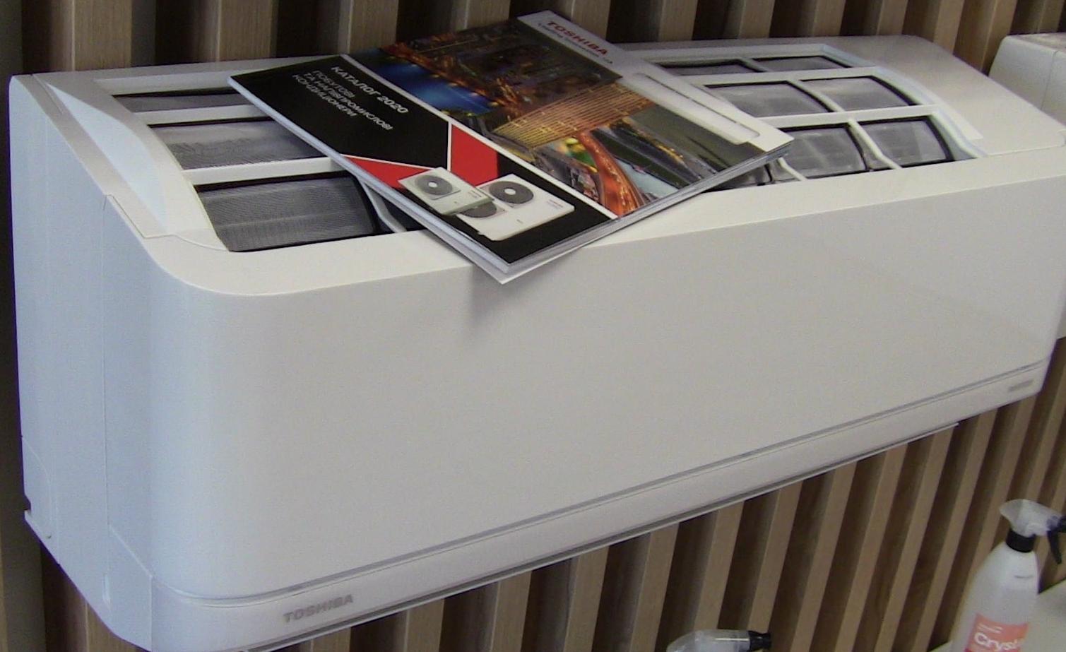 Зображення кондиціонера Toshiba для ВАС