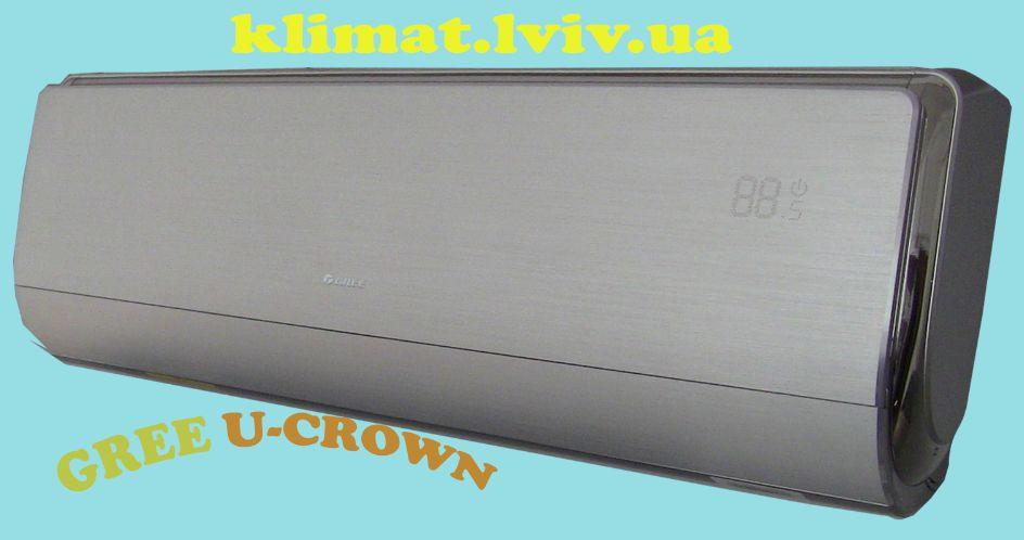 Зображення кондиціонера Gree GWH12UB-K3DNA4F серії U-CROWN DC Inverter для дитячої кімнати до 35 м2