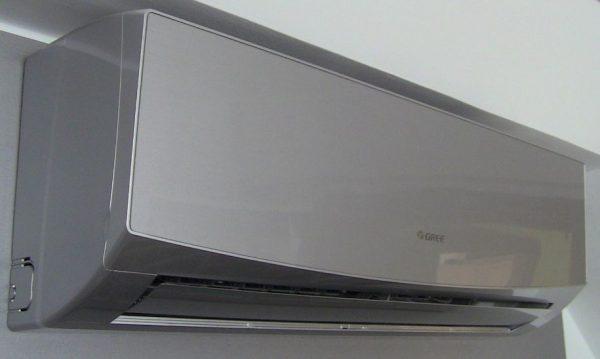 Зображення кондиціонера Gree GWH18QD-K6DND2D Silver серії LOMO