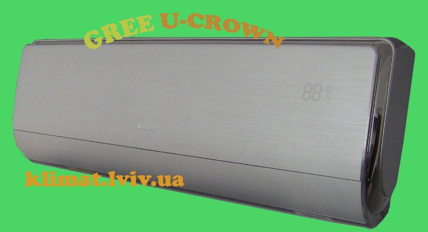 Зображення кондиціонера Gree GWH18UС-K3DNA4F серії U-CROWN DC Inverter для дитячої кімнати до 50 м2