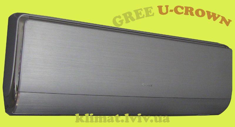 Зображення кондиціонера Gree GWH12UB-K3DNA4F серії U-CROWN DC Inverter для вітальної кімнати до 35 м2