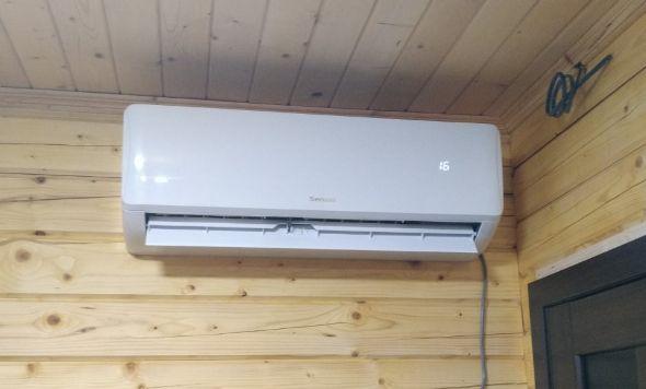 Зображення кондиціонера SENSEI Pro inverter для будинку до 35 м2