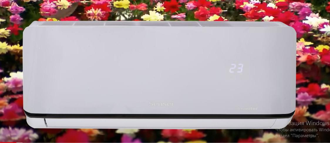 Зображення кондиціонера SENSEI серії Aquilon для кімнати до 35 м2