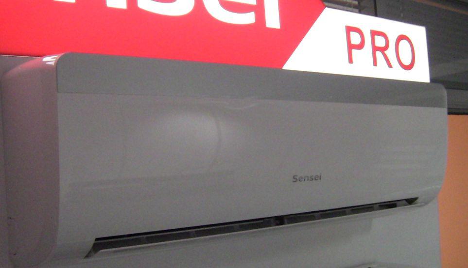 Зображення кондиціонера SENSEI Pro inverter серії Air Master для офісу до 70 м2